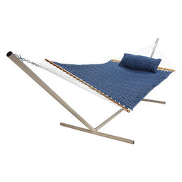 Pawleys Island Large Blue Soft Weave Hammock