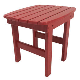 Pawleys Island Durawood Essential Adirondack Side Table - Red