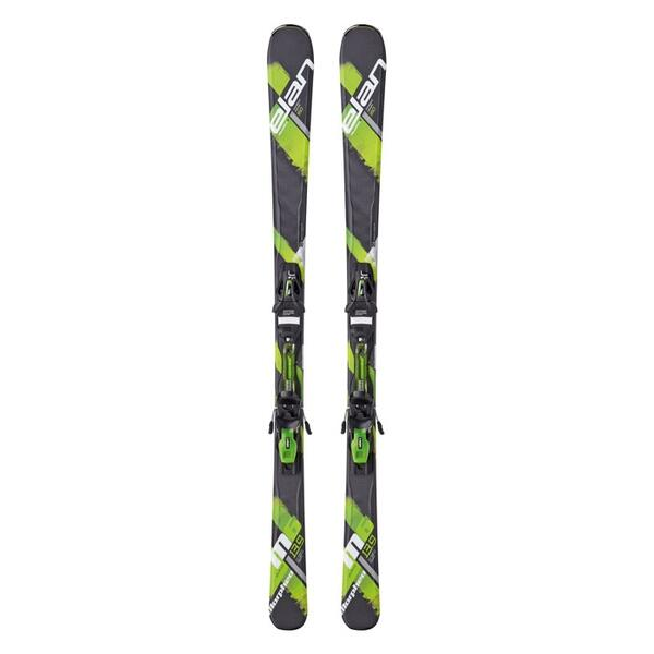 Elan Men's Morpheo 6 Green Qt All Mountain Skis With El 10 Qt Bindings '15