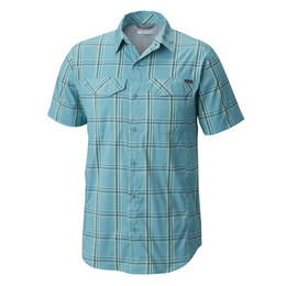 Columbia Men's Silver Ridge Lite Plaid Short Sleeve T Shirt