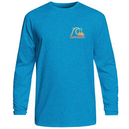 Quiksilver Men's Heritage Surf Heather Long Sleeve Rashguard