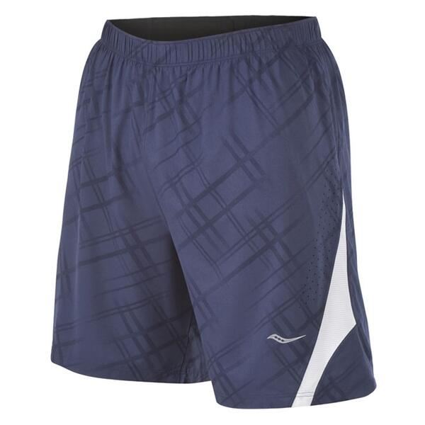 Saucony Men's Interval 2-1 Printed Running Short