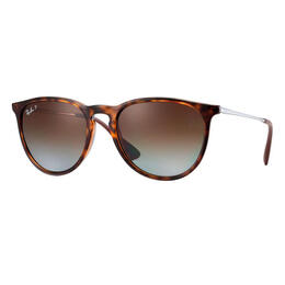 Ray-Ban Women's Erika Classic Sunglasses With Brown Polarized Lenses