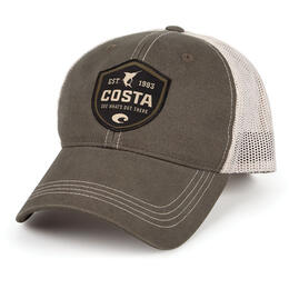 Costa Del Mar Men's Shield Trucker Hat