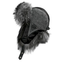 Mitchies Matchings Women's Trooper Fur Headliner Hat