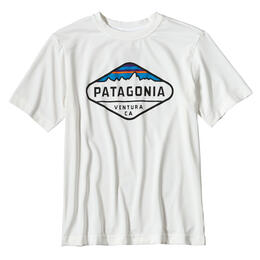 Patagonia Boys' Capilene Silkweight Short Sleeve T Shirt