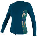 O'neill Women's Side Print Long Sleeve Rash