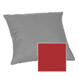 Casual Cushion Corp. 15x15 Throw Pillow - Hot Shot Red