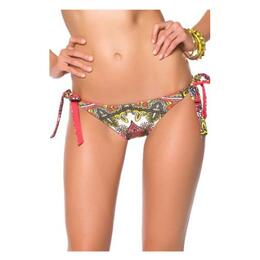 Becca Women's Marrakesh Tie Side Bikini Bottoms