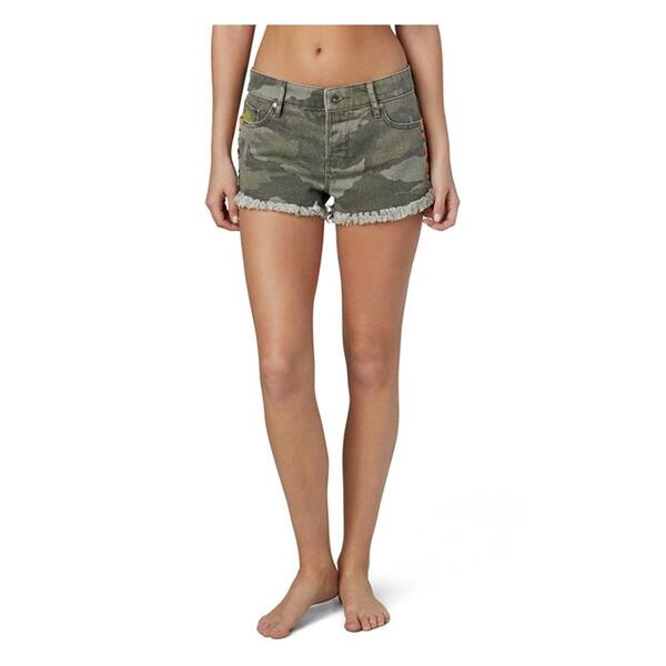 Roxy Jr. Girl's Breaking Camo Shorts
