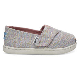 Toms Toddler Girl's Alpargata Casual Shoes Pink Multi