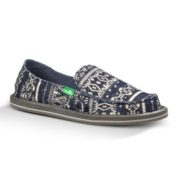 Sanuk Women's Johanna Flannel Slip-on Casual Shoes