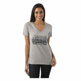 tentree Women's Vanlife V-neck Tee Shirt