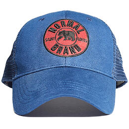The Normal Brand Men's The University Bear Navy Hat