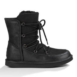 UGG® Women's Lodge Leather Lace Up Boots