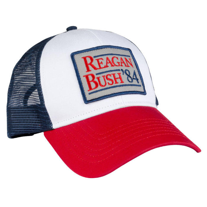 ddf68dea4df57 Rowdy Gentleman Men s Reagan Bush  84 Mesh Hat - Sun   Ski Sports