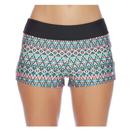 Next By Athena Women's Mandala Jump Start Swim Shorts