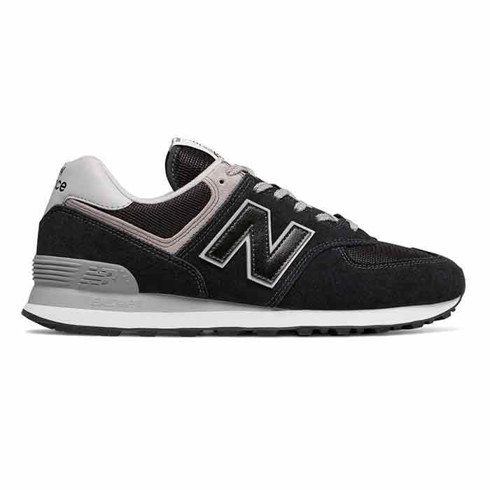 New Balance Men's 574 Black Casual Shoes