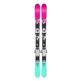 K2 Girl's Missy All Mountain Skis W/ 7.0 Bindings '18