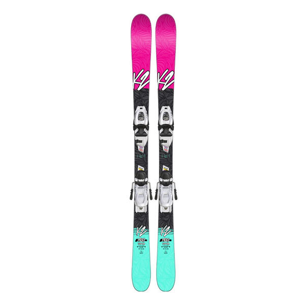K2 Skis Girl's Missy All Mountain Skis W/ 7