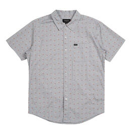 Brixton Men's Charter Print Short Sleeve Woven Shirt