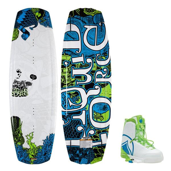 Liquid Force Men's Harley Wakeboard W/ Harley Bindings '15
