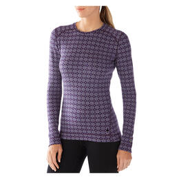 Smartwool Women's NTS Mid 250 Pattern Crew Baselayer Top