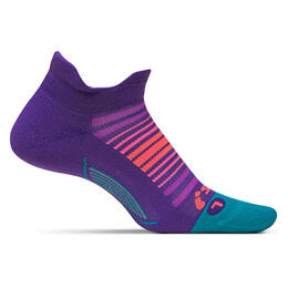 Feetures Women's Elite Sunrise Light Cushion No Show Tab Running Socks