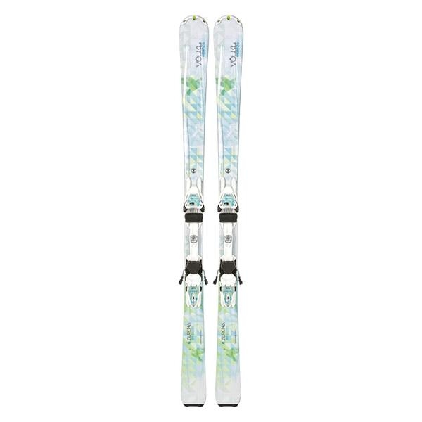 Volkl Women's Aurena All Mountain Skis with 4Motion 10 Bindings '14