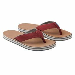 Hari Mari Men's Scouts Sandals Dark Red/Grey