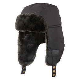 Screamer Boy's Midnight Faux Fur Bomber Hat