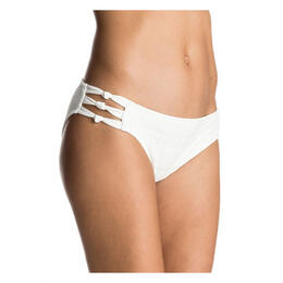 Roxy Women's Drop Diamond Knotted 70's Bikini Bottoms