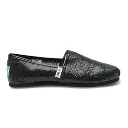 Toms Youth Glitter Slip-on Shoes