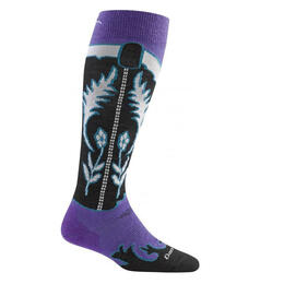 Darn Tough Vermont Women's Belle Star Light Snow Socks