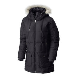Columbia Women's Della Fall Mid Hooded Down Winter Jacket