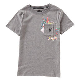 Hurley Boy's Overgrown Pocket T Shirt