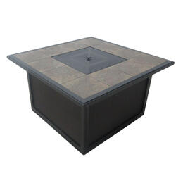 Casual Classics Spring Lake Square Fire Pit Chat Table