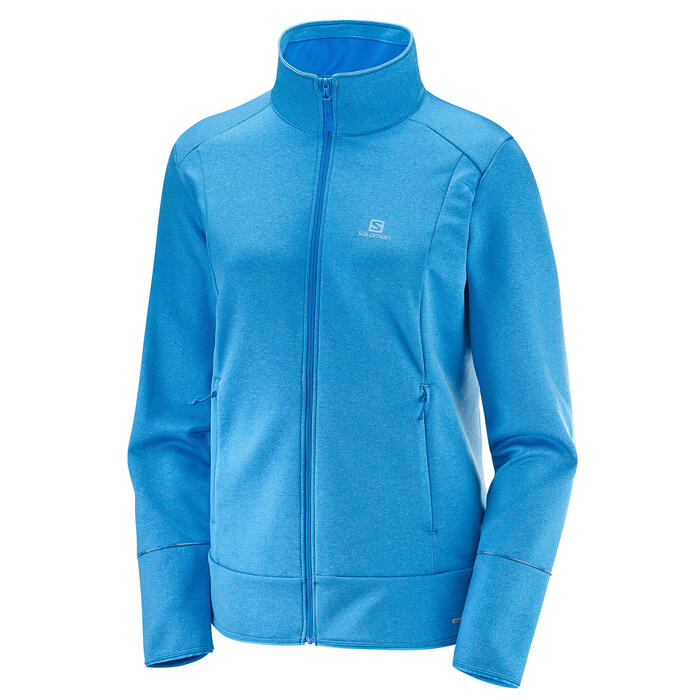 Salomon Women's Discovery Full Zip Top