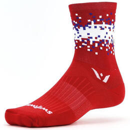 Swiftwick VISION Five Pixel Cycling Socks