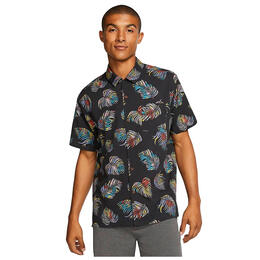 Hurley Men's Botanical Short Sleeve Shirt