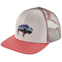 Patagonia Girls' Fitzroy Bison Trucker Hat
