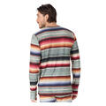 Burton Men's Midweight Crew Shirt Stripe Back