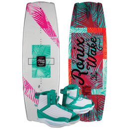 Ronix Women's Krush Wakeboard With Luxe Wakeboard Bindings '19