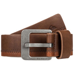 Quiksilver Men's Stitchout Faux Leather Belt