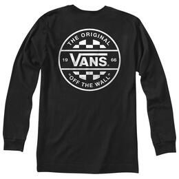 Vans Men's Checker Co. Long Sleeve T Shirt