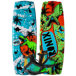 Ronix Boy's Vision Wakeboard with Vision Boots Size 5-8.5 '20
