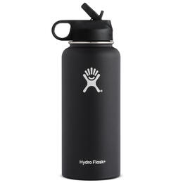 Hydroflask 32 oz Wide Mouth Bottle with Straw Lid