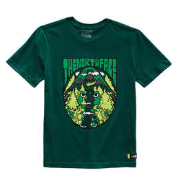 The North Face Boy's Graphic Short Sleeve TShirt Green
