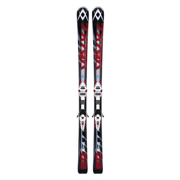 Volkl Men's RTM 80 All Mountain Skis with iPT Wideride 12.0 D Bindings '13