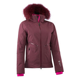 Mountain Force Women's Rider Jacket With Fur